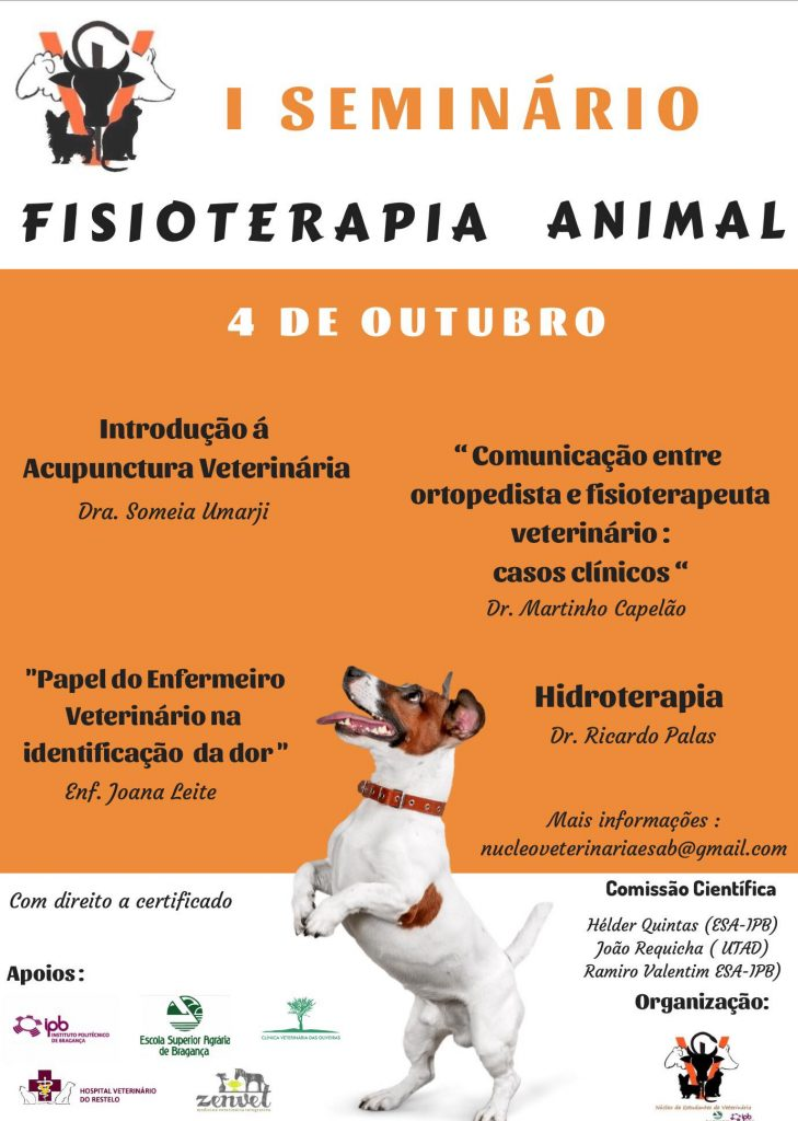 I Seminário Fisioterapia Animal