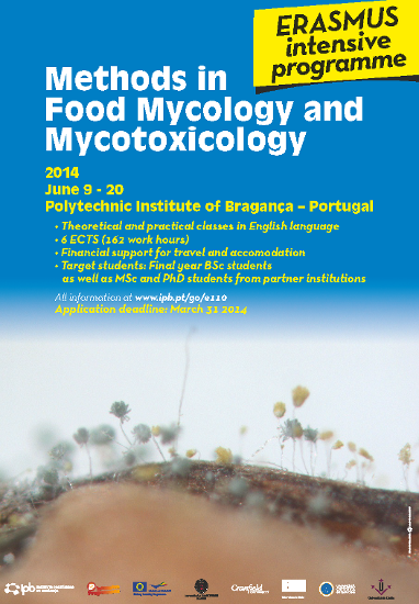 Methods in Food Mycology and Mycotoxicology - ER ASMUS intensive programme